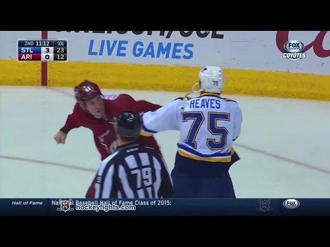 B.J. Crombeen vs. Ryan Reaves