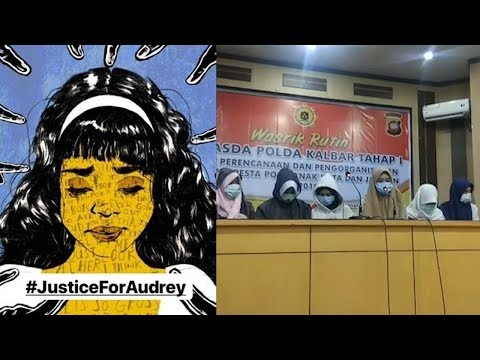 Konferensi Pers Pelaku Penganiayaan Audrey, Minta Maaf dan Membantah Pengrusakan Bagian Intim Korban