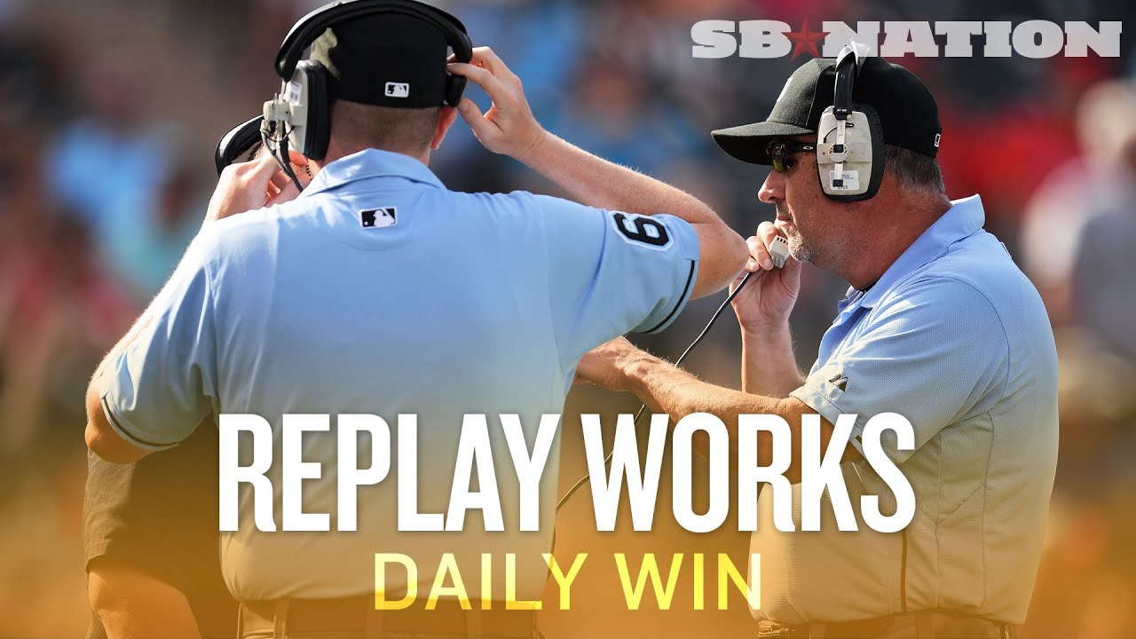 Why baseball replay is already working (Daily Win) thumbnail