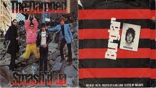 The Damned - Smash It Up / Burglar 7'' (vinyl rip)