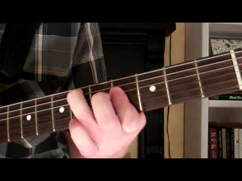 How To Play the Ebm7 Chord On Guitar (E flat minor seventh) 7th