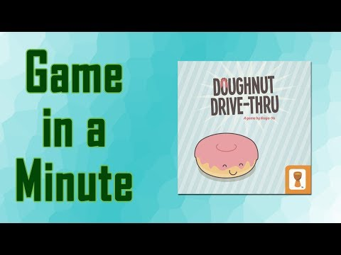 Game In A Minute Ep 49: Doughnut Drive-Thru