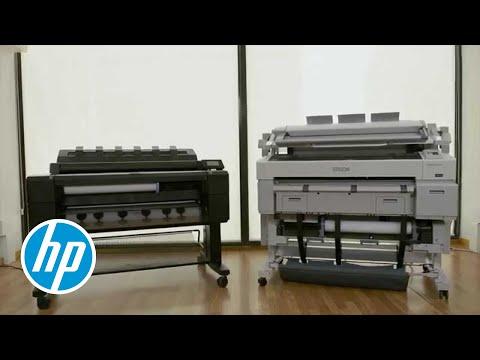 HP DesignJet T2500 MFP im Vergleich zu Epson - Make your business better