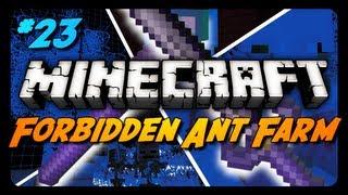 Forbidden Ant Farm Survival - THE FORBIDDEN BLADE! - Ep. 23