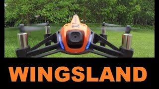 Wingsland X1 FPV DRONE Full review Camera & App Quality test Range Flight Review