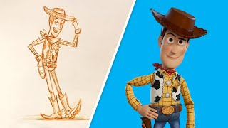 How to Draw Woody from Toy Story | Draw With Pixar