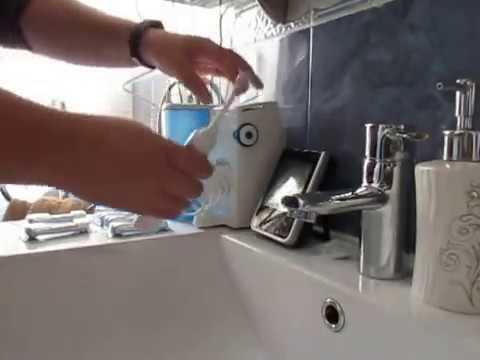 Oral B OxyJet   Sistema de limpieza irrigador, la unica pega el tamaño