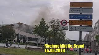 Brand Mainzer Rheingpldhalle - 16.05.2019