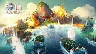 Boom Beach  Universal  HD Sneak Peek Gameplay Trailer