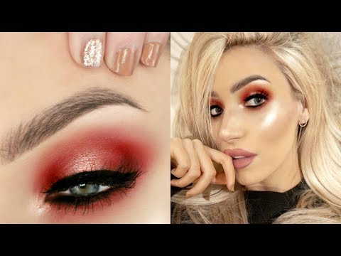 Warm Halo Effect Hooded Eyes Makeup Tutorial | STEPHANIE LANGE