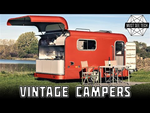 10 Campers and Overland Vehicles That Combine New Technology with Vintage Looks