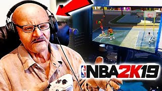 i troll the Oldest Man on NBA 2K during his Livestream 😂😂 he almost has heart attack he so MAD LOL