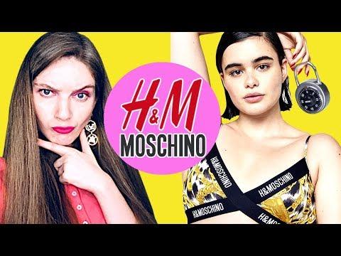 Обзор коллекции HM x Moschino 2018 видео