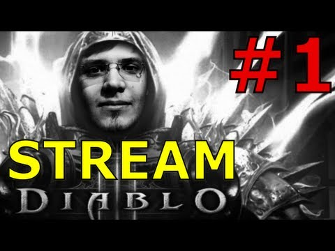 [720p] Diablo 3 Walkthrough Mazarini & Aerox [PART1]