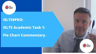 IELTS9PRO: Academic Task 1: Pie Chart Commentary.