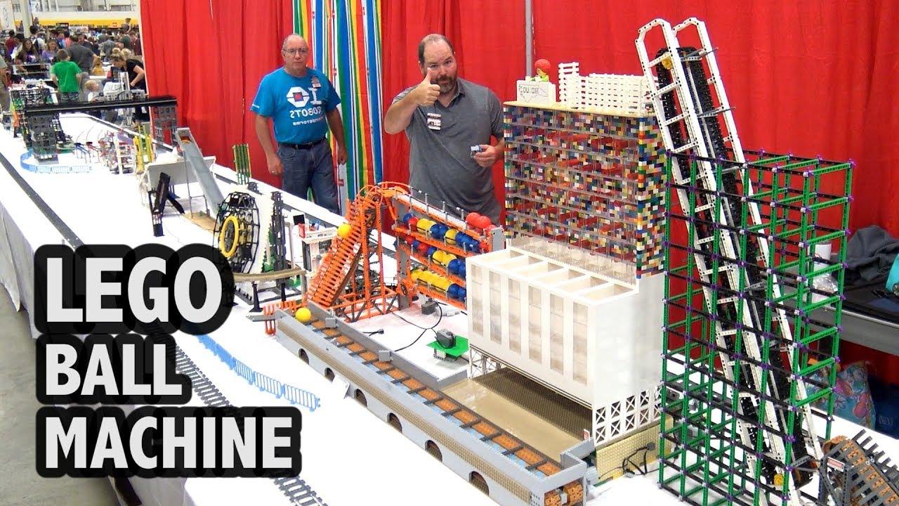 LEGO Big Ball Machine | BrickFair Virginia 2018