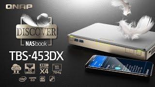 Qnap NASbook TBS-453DX-8G 4-Bay M 2 SATA SSD RAID (8GB RAM) + 10GbE