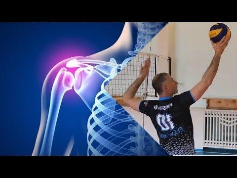 Травма. Разрыв сухожилия длинной головки двуглавой мышцы плеча.