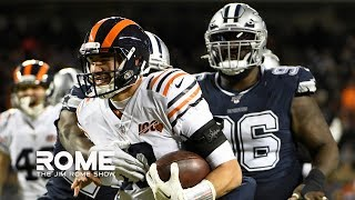The Dallas Cowboys QUIT Versus The Chicago Bears!   The Jim Rome Show