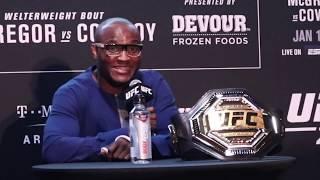 UFC 246: Kamaru Usman Press Conference