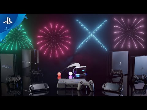 PlayStation 25週年的影片