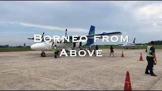 Borneo By Plane - Sandakan to Kudat - Tip Of Borneo - Flight over the rainforest - small plane