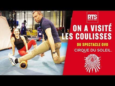 On a visité les coulisses du Cirque du Soleil