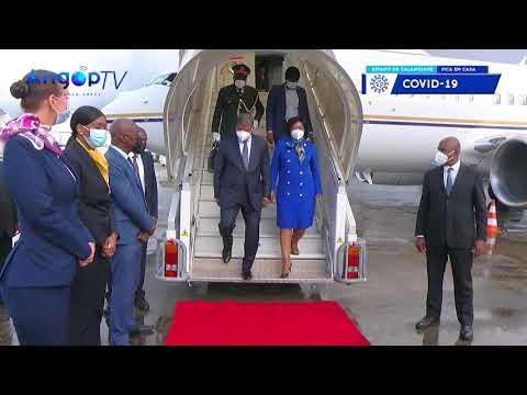 João Lourenço em Paris para Cimeira sobre África