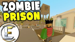 Zombie Prison - Unturned Roleplay Outbreak Story S4#2 (We Need To Get Rick Out Of Bandit Prison)