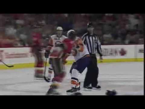Mark Giordano vs. Matt Martin
