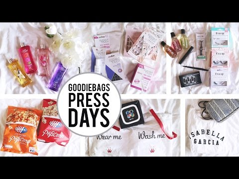 DISCOVERING NEW THINGS | Goodiebag review persdagen Antwerpen 2017