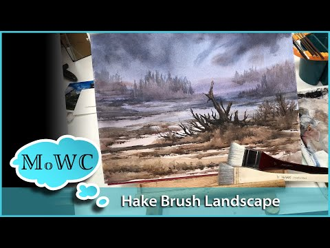 landscape watercolor painting tutorials