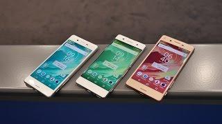 Sony Xperia X, Xperia XA, Xperia X Performance – первое впечатление