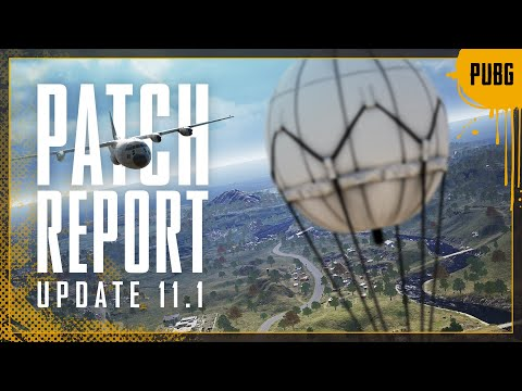 Patch Report #11.1 - Paramo, Emergency Pickup | PUBG
