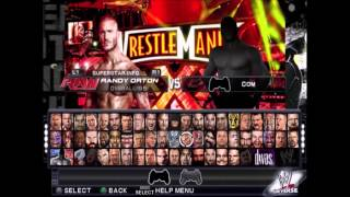 WWE 2K15 PS2 All Characters