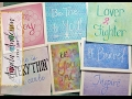 How to do Hand Lettering with Acrylics | Live Inspirational Quotes Painting Tutorial | #ThinkPinkArt