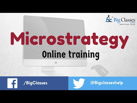 Microstrategy Online Training | Microstrategy Tutorials for Beginners ...