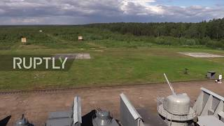 Russia: Eighth International Maritime Defence Show kicks off in St. Petersburg