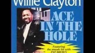 """Willie Clayton - Equal Opportunity """"www.getbluesinfo.com"""""""