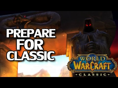 WoW Classic Launch Guide & Preparation