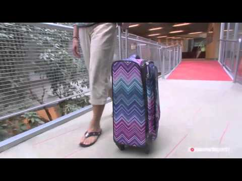 Shop For Carry-On Luggage Without External Pockets For Easier Flying