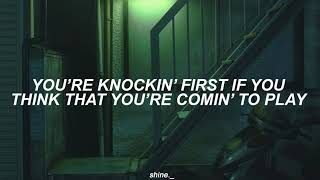 arctic monkeys ; knock a door run // lyrics