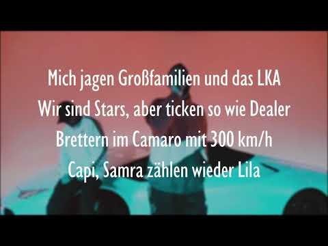 SAMRA & CAPITAL BRA - WIEDER LILA (Official HQ Lyrics) (Text)