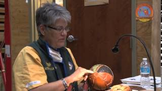 Dixie Biggs Demonstrates Relief Carving For Woodturners  Part 1
