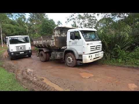 Veja a situação da Estrada do Monjolo no Bairro da Estrada Velha