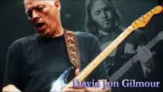 Best Of David Gilmour Guitar Solos   Soulful Melodies