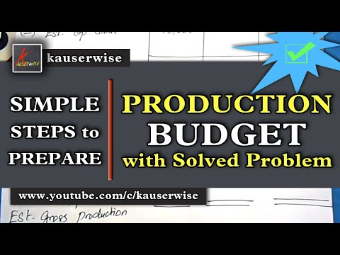 Production budget [Normal Loss in Production] with Solved problem :-by kauserwise