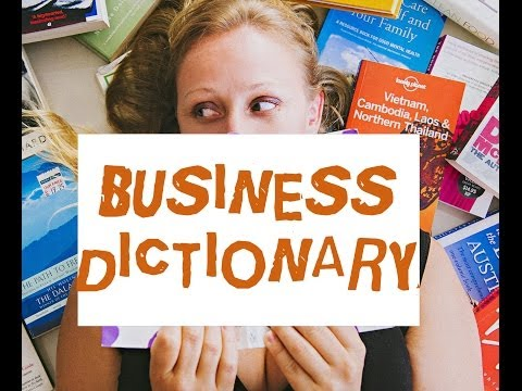 mp4 Business Dictionary, download Business Dictionary video klip Business Dictionary