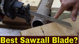 Which BiMetal Sawzall (Metal Cutting) Blade Best? Let