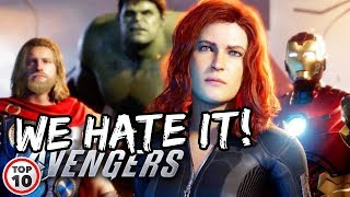 Avengers Assemble At E3 And Fans Are Disappointed!